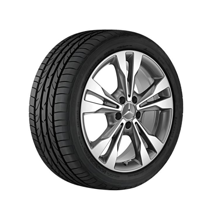 Mercedes Benz Vito Originele 5 Dubbelspaaks Velgen 18 Incl